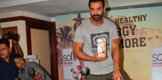 John Abraham promotes Sofit Soya Milk