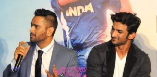 Sushant Singh Rajput and MS Dhoni launch trailer of MS Dhoni – The Untold Story