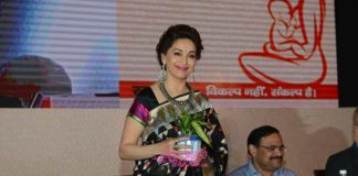 Madhuri Dixit promotes the cause of breast feeding at UNICEF event