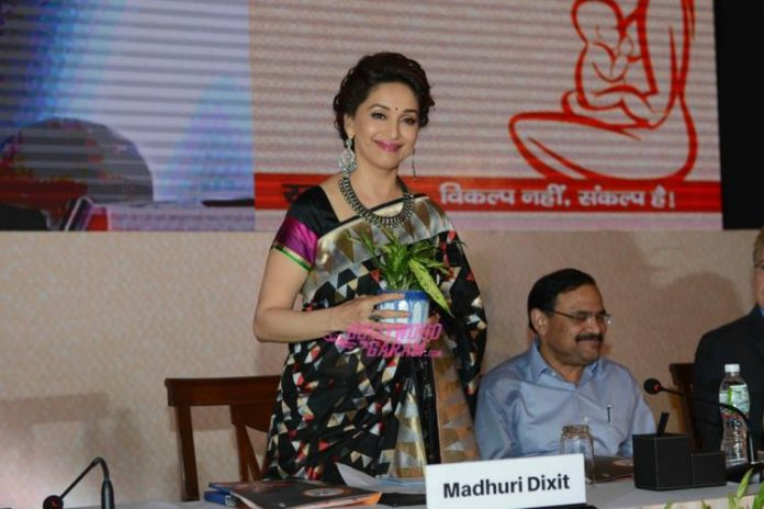 Madhuri Breast feed campaign2