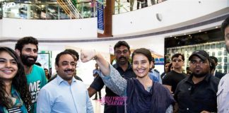 Manisha Koirala supports Proud to be an Indian campaign at New Delhi