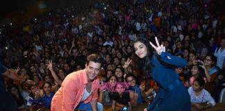 Hrithik Roshan and Pooja Hegde promote Mohenjo Daro amidst students – Photos