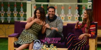 Team Rustom have fun on sets of The Kapil Sharma Show