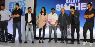 Arjun Rampal and Rannvijay Singh at Salute Siachen documentary launch