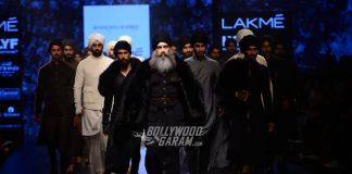 Lakme Fashion Week Winter/Festive 2016 Photos – Malaika Arora, Riteish Deshmukh turn showstopper for designers Shantanu, Nikhil