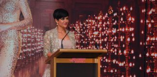 Mandira Bedi and Ratan Tata Tajness launch event