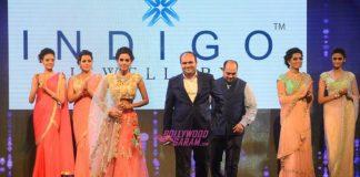 Vidya Balan walks the ramp at GJF Fashion Night