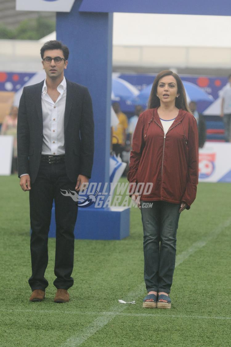 Ranbir Kapoor and Nita Ambani