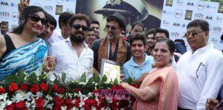 Akshay Kumar, Ileana D'Cruz, Esha Gupta and Arjan Bajwa promote Rustom at Hansraj College