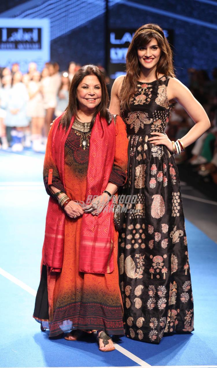 Kriti Sanon is Ritu Kumar showstopper