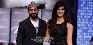 Kriti Sanon sizzles on ramp at celebrity fashion show
