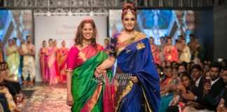 Raveena Tandon walks the ramp at Mysore Fashion Week  2016