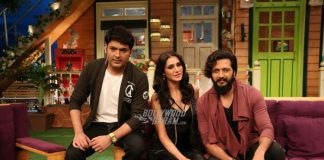 Riteish Deshmukh and Nargis Fakhri promote Banjo on The Kapil Sharma Show