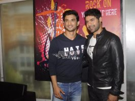 Sushant Singh Rajput promotes M.S.Dhoni – The Untold Story on sets of TV show