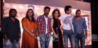 Kangana Ranaut, Sonu Sood and Prahu Deva launch music of Tutak Tutak Tutiya