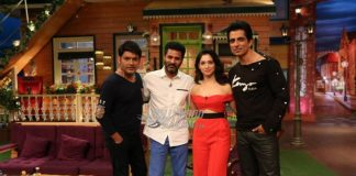 Tamannaah Bhatia, Sonu Sood and Prabhu Deva promote Tutak Tutak Tutiya on The Kapil Sharma Show