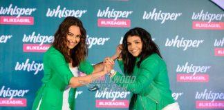 Sonakshi Sinha and Sakshi Malik launch Like a Girl & Proud campaign
