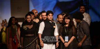 Amazon India Fashion Week 2016 – Aditi Rao Hydaari walks the ramp for Sanjay Garg