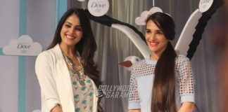 Genelia D'Souza and Tara Sharma at Baby Dove launch event