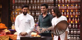 Ranveer Singh and Vaani Kapoor promote Befikre at MasterChef India