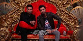 Karan Johar and Ranbir Kapoor have fun on sets of Comedy Nights Bachao
