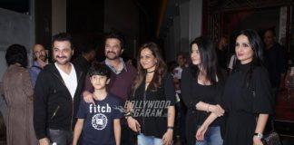 Kangana Ranaut and Anil Kapoor grace Mirzya special screening