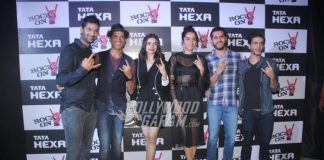 Shraddha Kapoor, Farhan Akhtar and Purab Kohli at Tata Hexa event