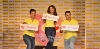 Kunal Kapoor, Shilpa Shetty and Cyrus Sahukar raise heart health awareness