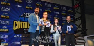Ajay Devgn launches Shivaay Comic book