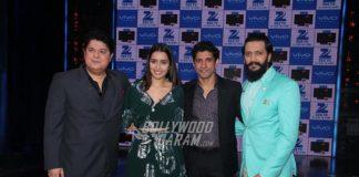 Shraddha Kapoor and Farhan Akhtar promote Rock on 2 on Yaadon Ki Baraat