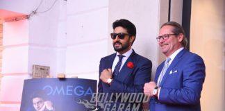 Abhishek Bachchan graces OMEGA event at New Delhi