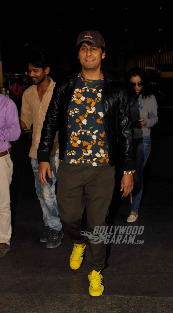 airport-fashion-sonu-nigam