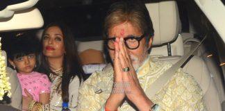 Amitabh Bachchan hosts lavish Diwali bash at residence – Photos