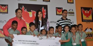 Athiya Shetty shows support at Save The Children event