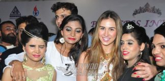 Lauren Gotlieb and Satish Kaushik grace beauty pageant for blind girls