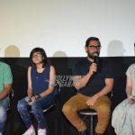 Aamir Khan with reel life daughters promote Dangal