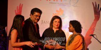 Farah Khan celebrates with cancer survivors