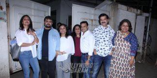 Esha Gupta catches Force 2 special screening