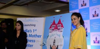 Genelia D'Souza goes barefoot at Baby and Mother Wellness centre launch