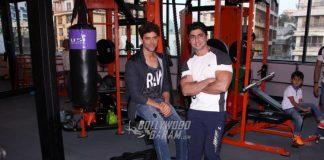 Hrithik Roshan at personal trainer's gym launch event