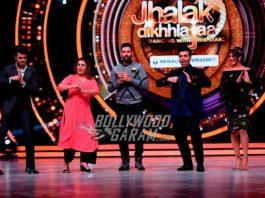 Yuvraj Singh shakes a leg on sets of Jhalak Dikhhla Jaa