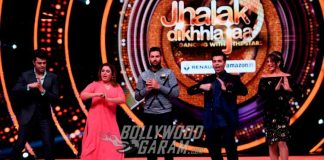 Yuvraj Singh shakes a leg on sets of Jhalak Dikhhla Jaa