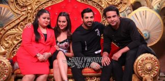 Sonakshi Sinha and John Abraham promote Force 2 on Comedy Night Bachao Taza