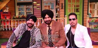 Daler Mehndi and Mika Singh have fun on The Kapil Sharma Show