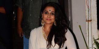 Vidya Balan promotes Kahani 2 on Diwali