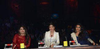 Vidya Balan promotes Kahaani 2 on sets of Super Dancer