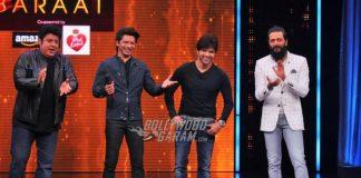 Shaan and Himesh Reshamiya have fun on Yaadon Ki Baraat show
