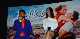 Ranveer Singh and Vaani Kapoor promote Befikre