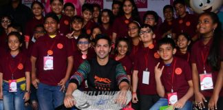 Varun Dhawan celebrates Children's Day at Kidzania
