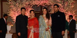 B'Town celebrities at stylist Shaina Nath and Gautam Taldar's wedding reception – Photos